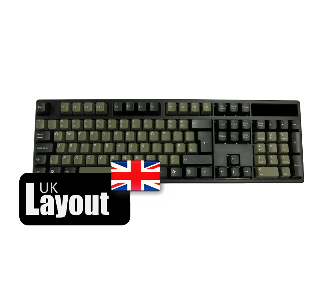 Tai-Hao ABS Double Shot Keycaps Dolch UK